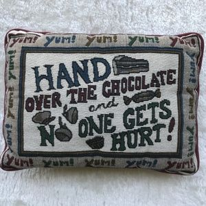 "Chocolate Lovers Pillow Rectangle 9""x13"""